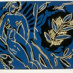 "Untitled (blue nude), 1985 7"" x 8.5"", edn 25"