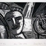 "Mr Doo-dah, 1995 etching, 5.8"" x 7.8"", edn 15"