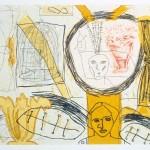 "Daybreak, 1994 etching, 8"" x 9.9"", edn 30"