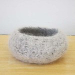 "Untitled (kp105) knitted felt 4"" h"