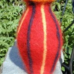 "Untitled (kp24) knitted felt 12"" h private collection"