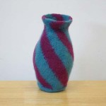 "Untitled (kp28) knitted felt 11.5"" h"
