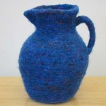 "Untitled (kp45) knitted felt 11.5"" h"