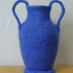 "Untitled (kp51) knitted felt 16"" h"