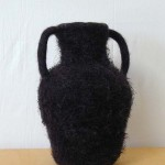 "Untitled (kp53) knitted felt 15"" h"