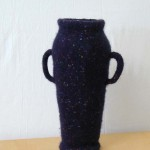 "Untitled (kp59) knitted felt 14"" h"