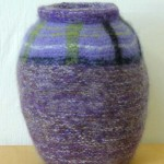 Tweed POT 8/20/05 KNITTED FELT 15.5; h