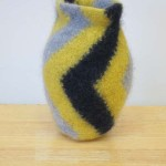 "Untitled (kp86) knitted felt 10"" h"