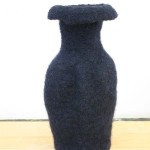 "Untitled (kp96) knitted felt 10"" h"