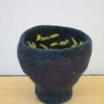"Untitled (kp99) knitted felt 8"" h"
