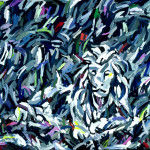 Sutro Park 1982, oil on canvas